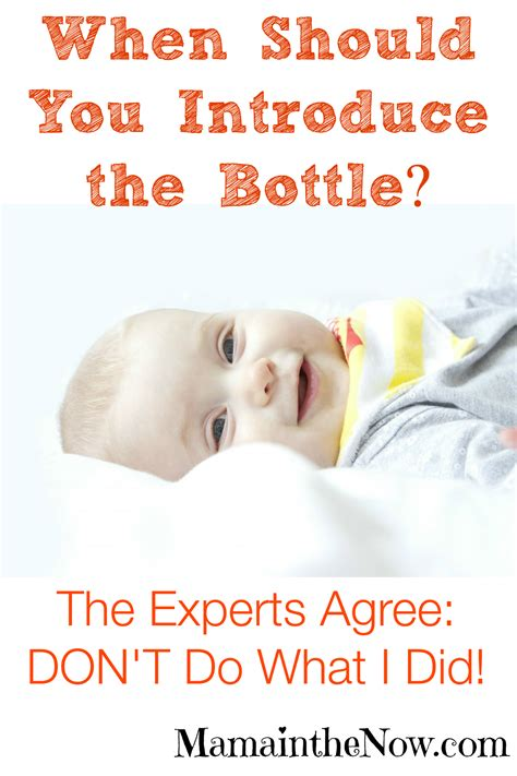 When Should You Introduce The Bottle Dont Do What I Did