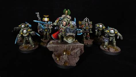 Red Scorpions Chapter Master fantasygamescompl