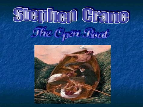 The Open Boat Modernism stephen crane