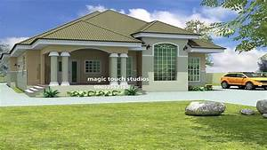 Bedroom Bungalow House Plan Nigeria Ghana Home Building 3