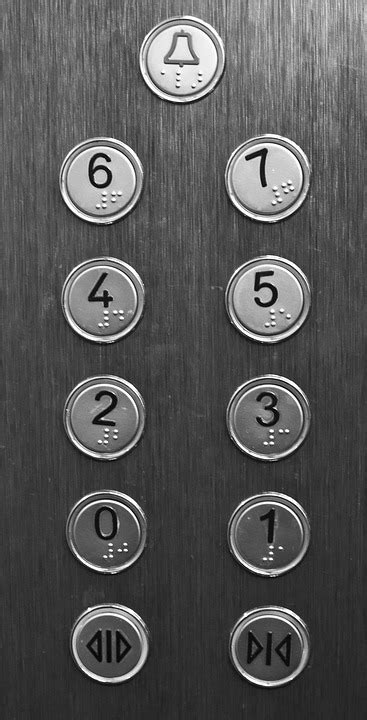 Free photo: Elevator, Button, Building, Push - Free Image