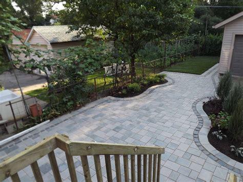 interlock patio ideas traditional interlock patio patio toronto by paradise views landscaping
