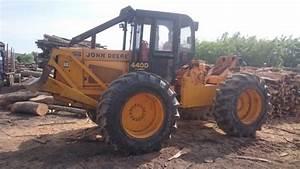 John Deere 440 D   U0160umski Traktor  Vitlo  Zglobni Traktor