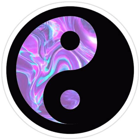yin yang stickers by trendystickers redbubble