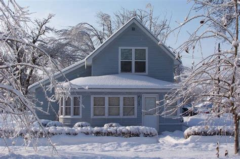 Snowy Vermont Home Ready by A Checklist For Winterizing And Weatherproofing Your Home