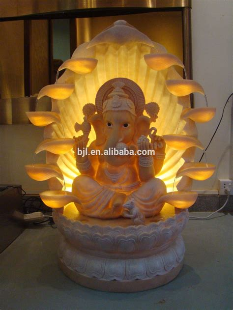 resin water fountains large ganesh statue  sale buy