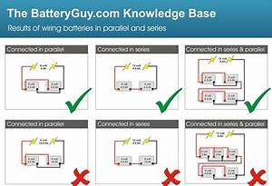 Connecting Batteries In Parallel  U2013 Batteryguy Com Knowledge Base