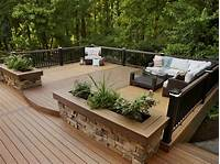 great wood patio design ideas 17 Charming Rustic Deck Design Ideas