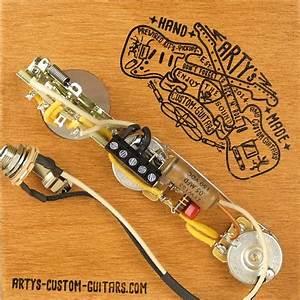 Arty U0026 39 S Custom Guitars Vintage Solderless Prewired Kit