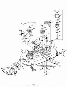 Troy Bilt 13a879ks066 Tb42 Hydro  2015  Parts Diagram For