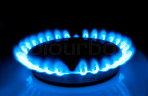 Natural Gas In The Home, A Blue Flame