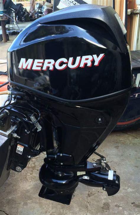 hp mercury  stroke bigfoot outboard boat motor  sale