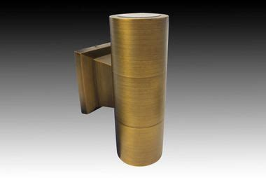 turbo up down wall light antique bronze products