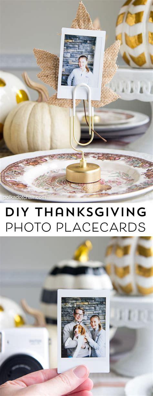 diy thanksgiving place cards idea visa gift card