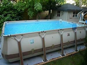 Grande Piscine Hors Sol : piscine hors sol basse normandie piscines delalande ~ Premium-room.com Idées de Décoration