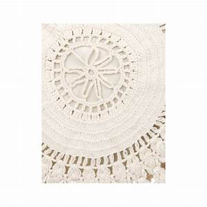 Coussin Rond 50 Cm : coussin rond 60 x 60 cm de la collection crochet par ~ Dailycaller-alerts.com Idées de Décoration