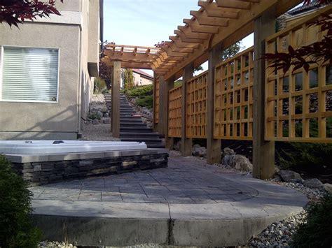 concrete pergola concrete patio seating acid stained concrete patio pergola chsbahrain com