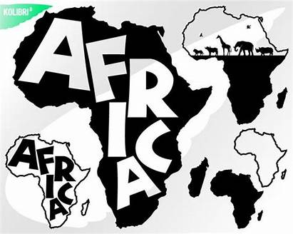 Africa Clipart African Svg Map