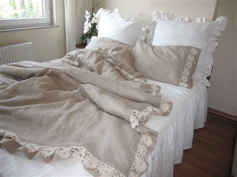 Ikea Linen Duvet Cover : Rustic Bedroom with Rustic