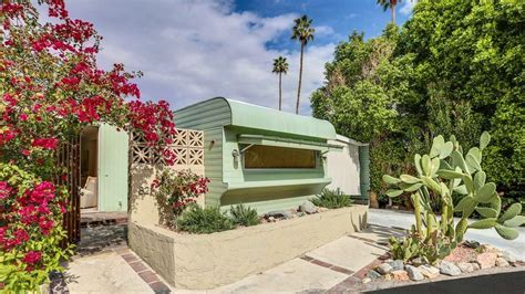 Darling '50s trailer home in Palm Springs can be yours for