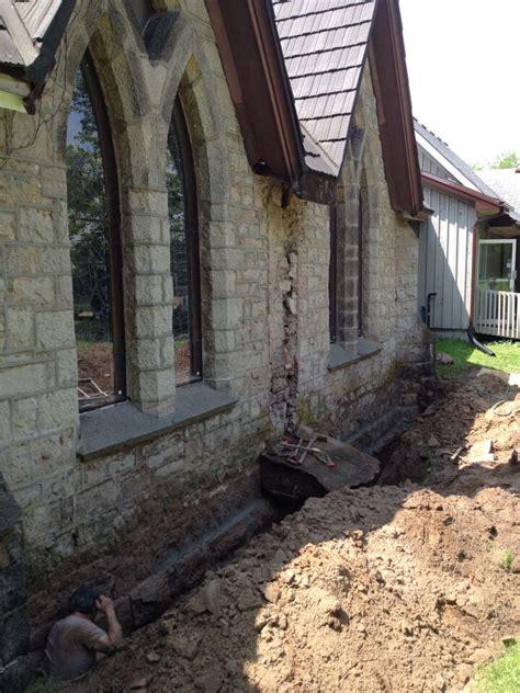 stone foundation repair hamilton burlington mount hope