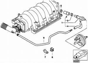 Original Parts For E53 X5 4 6is M62 Sav    Engine   Vacuum Control Engine