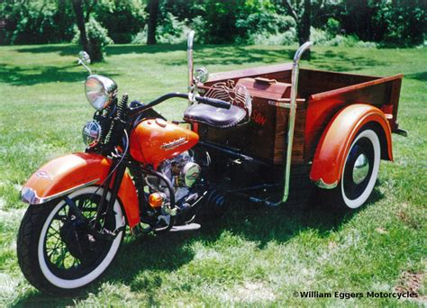 1953 Custom Harley Servi-car Pickup