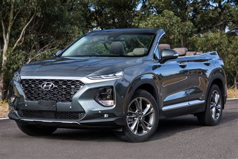 Things are always better with santa fe, in all ways. One-off Hyundai Santa Fe Cabriolet offers open-topped off ...