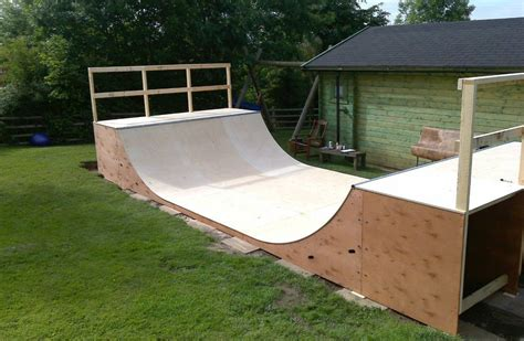 Flat Packed Mini Ramp Halfpipe Kits By Four One Four