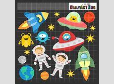 Fun Outer Space Clip Art Set – Daily Art Hub – Free Clip