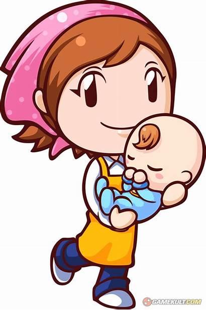 Babysitting Clipart Clip Babysitter Boy Mama Cooking