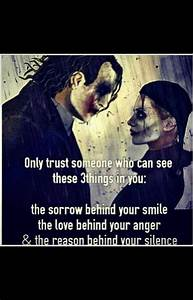 Joker and Harle... Harley And Joker Quotes