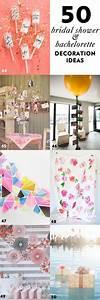 50 Simple and Stylish DIY Bridal Shower & Bachelorette