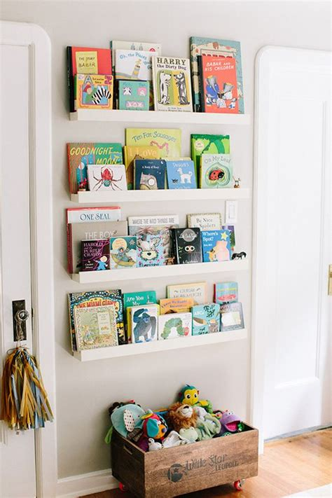 25 Spacesaving Kids' Rooms Wall Storage Ideas Shelterness