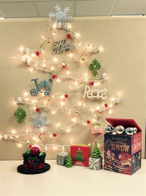 office desk christmas decorations christmas decoration ideas for office that everyone will love