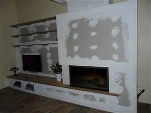 cheminee contemporaine 3arenocom With salle de bain design avec cheminées électriques décoratives