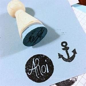 Stempel Selber Gestalten : stempel selber machen linolschnitt basteln ~ Eleganceandgraceweddings.com Haus und Dekorationen