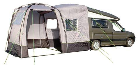 ten camper van awnings  increase   living space