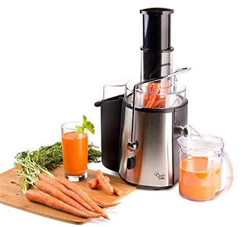 juicer machine juice fruit extractor maker electric apple carrot steel star vegetable stainless vegetables mouth wide chef kitchen juicers amazon