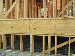 Wood stem wall foundation   Construction   Pinterest