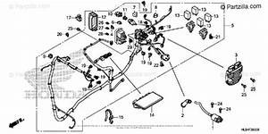 Honda Side By Side 2015 Oem Parts Diagram For Wire Harness