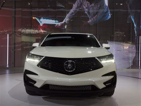 Allnew, 2019 Acura Rdx Ups The Aggression And Tech