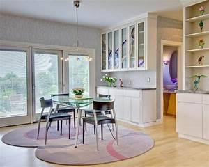 tapis cuisine decoration parfaite pour votre espace 22 idees With salle À manger contemporaineavec placard salle À manger