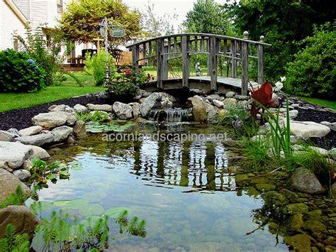 garden ponds goldfish ponds koi ponds monroe county