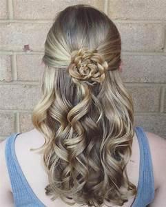 25+ best ideas about Flower braids on Pinterest Flower braid hair, Prom hair tutorial and