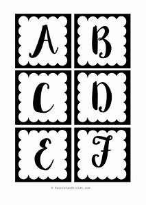 Instant display lettering a z black and white free for Display lettering