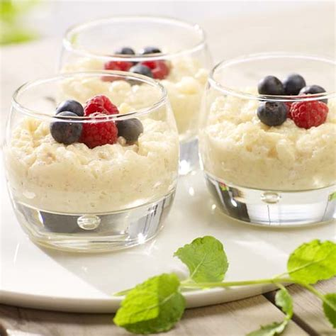 riz au lait 224 la cr 232 me anglaise et fruits des bois colruyt