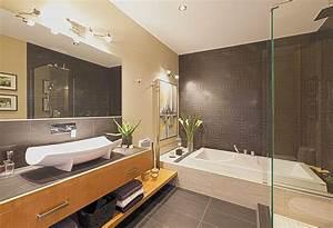 Salle de bain moderne vos idees sur mesure griffe cuisine for Salle de bain design avec arbre décoratif intérieur