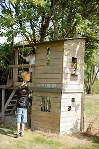 Grande Cabane Enfant : cabane de jardin pour les enfants deco exter jardin pinterest cabane jardin enfant jardin ~ Melissatoandfro.com Idées de Décoration