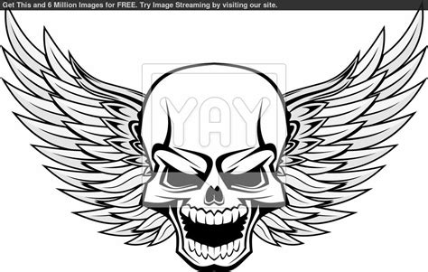 Skull Coloring Pages Printable Image